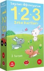 Sayıları Öğreniyorum 1-2-3 Zeka Kartları