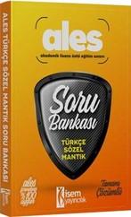 ALES Türkçe-Sözel Mantık Tamamı Çözümlü Soru Bankası