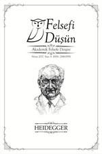 Felsefi Düşün Sayı 8-Heidegger