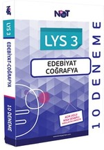 LYS 3 Edebiyat-Coğrafya 10 Deneme