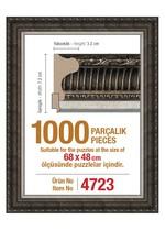 Polist-Çer 1000 Gümüş 68x48cm.