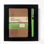Lecolor Rodonit Naturel Defter+Kalem Set