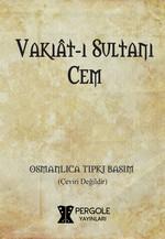 Vakıat-ı Sultanı Cem