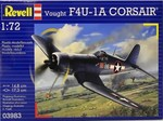 Revell Vought F4U1D Corsair 1/72 Maket (3983)