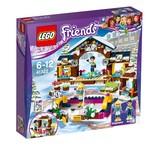 Lego-Friends Snow Resort Ice Rink 41322