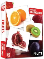 Miracle Flashcards-Fruits