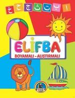 Elifba Boyamalı-Alıştırmalı