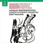 Milhaud & Honneger:Cello Concertos
