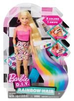 Barbie- Gökkuşağı Saçlar FFK05