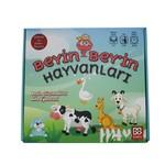 BeyinBey- Hayvanlar Oyun Kartı