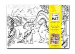 Akademi Çocuk-Funny Mat Dinozorlar Çağı