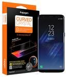 Spigen Galaxy S8 Ekran Koruyucu, Spigen Curved Crystal HD Kavisli Tam Kaplayan 2 Adet 565FL21702