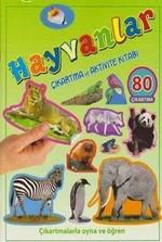 Hayvanlar Çıkartma ve Aktivite Kitabı