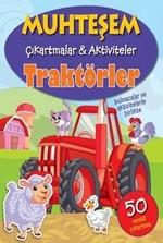 Traktörler-Muhteşem Çıkartmalar ve Aktiviteler