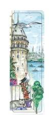 Galeri Alfa-Galata Sefası İstanbul Serisi Ayraç