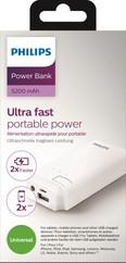 Philips 5200mAh Power bank 2.1A 1 USB  DLP5205U/10