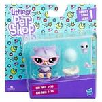 Littlest Pet Shop-Miniş ve Yavrusu Figür  B9358