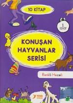 1. Sınıf Konuşan Hayvanlar Serisi-10 Kitap Takım