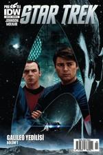 Star Trek Sayı 3 Kapak A-Çizgi Roman Dergisi
