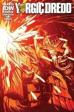 Yargıç Dredd Sayı 4 Kapak B-Çizgi Roman Dergisi