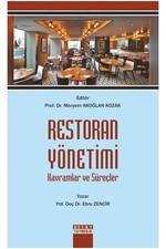 Restoran Yönetimi Kavramlar ve Süreçler