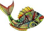 Dekoratif Cam Takısı Balık