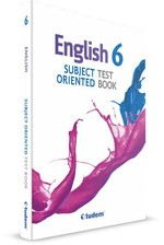 6 English Subject Oriented Test Book