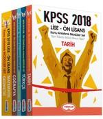 KPSS 2018 Lise-Ön Lisans Modüler Set-5 Kitap Takım
