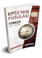 2018 KPSS'nin Pusulası Türkçe Konu Anlatımı