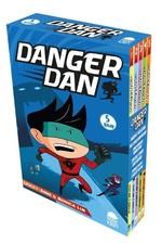 Danger Dan Seti-5 Kitap Takım