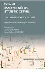 1916 Yılı Osmanlı Nüfus İstatistik Cetveli
