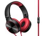 Pioneer Se-Mj722T Kulaküstü Kulaklık  Kırmızı