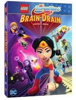 Lego DC Super Hero Girls - Brain Drain DVD