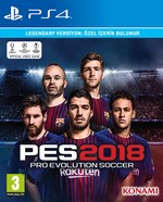 PES 2018 Legendary Edition PS4