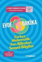 4.Sınıf Evde 30 Dakika Türkçe Matematik Fen Bilimleri Sosyal Bilgiler