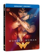Wonder Woman 3D Blu-Ray Steelbook