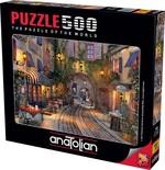 Anatolian Fransız Sokağı 500 Parça Puzzle (3602)