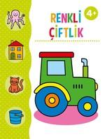 Renkli Çiftlik Boyama Kitabı