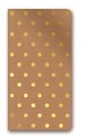 Lecolor Kraft Shimmer 80Yp Çizgili Defter