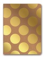 Lecolor Kraft Shimmer 15x21 80Yp Çizgili Defter