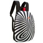 Zipit Shell Sırt Çantası - Black White Swirls