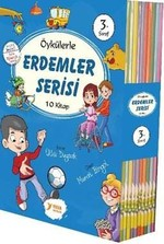 3.Sınıflar için Erdemler Serisi-10 Kitap Takım