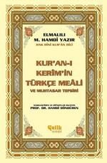 Kur'an-ı Kerim'in Türkçe Meali ve Muhtasar Tefsiri-Küçük Boy