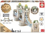 Educa-Tower Bridge 3D Puzzle W/16999