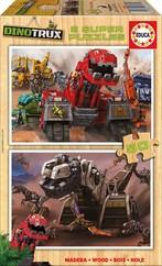 Educa-Dinotrux 2X50 Parça Puzzle W/17272