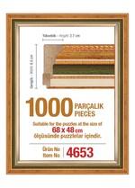 Polistiren 1000 Parçalık Puzzle Çerçevesi W/4653
