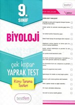 9.Sınıf Biyoloji Konu Tarama Yaprak Testleri