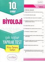 10.Sınıf Biyoloji Konu Tarama Yaprak Testleri