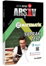 2018 KPSS Matematik Yaprak Test