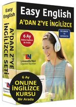 Easy English A'dan Z'ye İngilizce Eğitim Seti